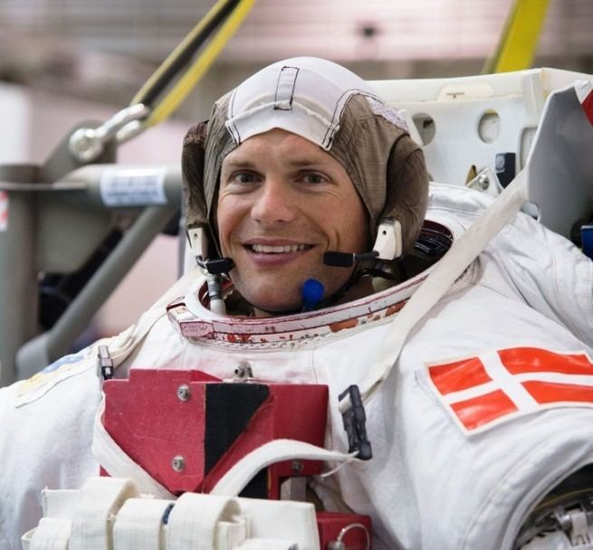 Andreas Mogensen Astronaut to test drive rover from International Space Station