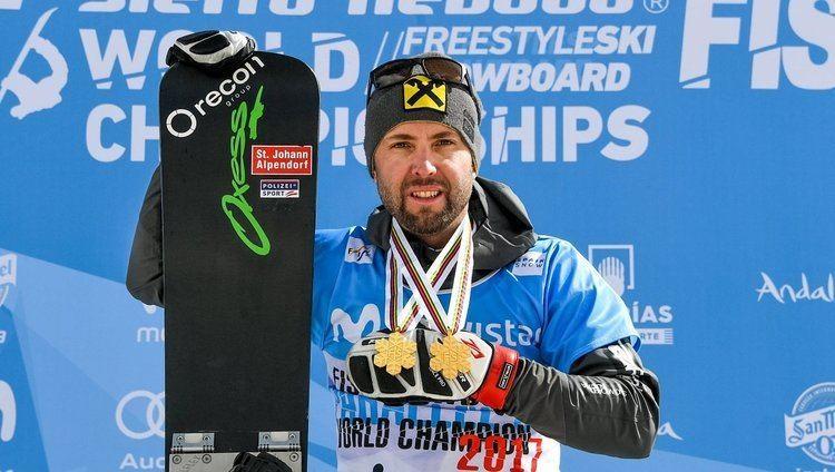 Andreas Prommegger SnowboardWM Prommegger holt neuerlich Gold Silber wieder fr Karl
