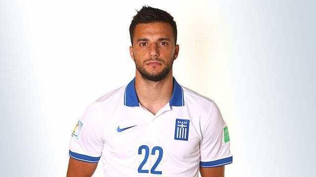 Andreas Samaris Classify Greek footballer Andreas Samaris