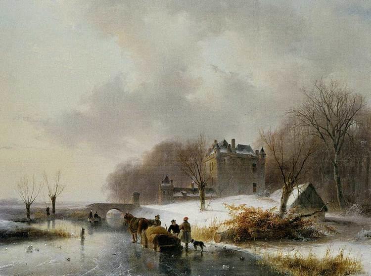 Andreas Schelfhout winter Rita39s Dog Blog