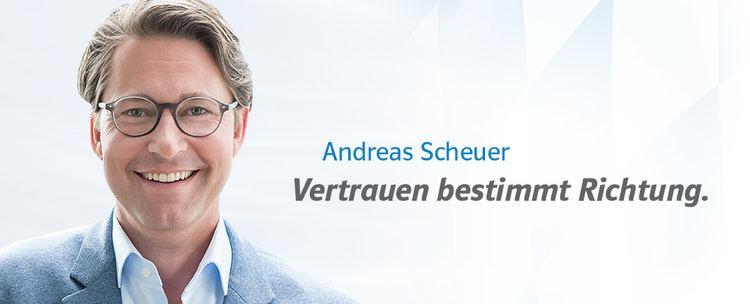 Andreas Scheuer andreasscheuerde CSU