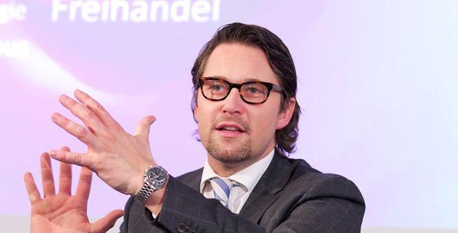 Andreas Scheuer Deutsche Post DHL Group Logistics 2050 Presentation of the study