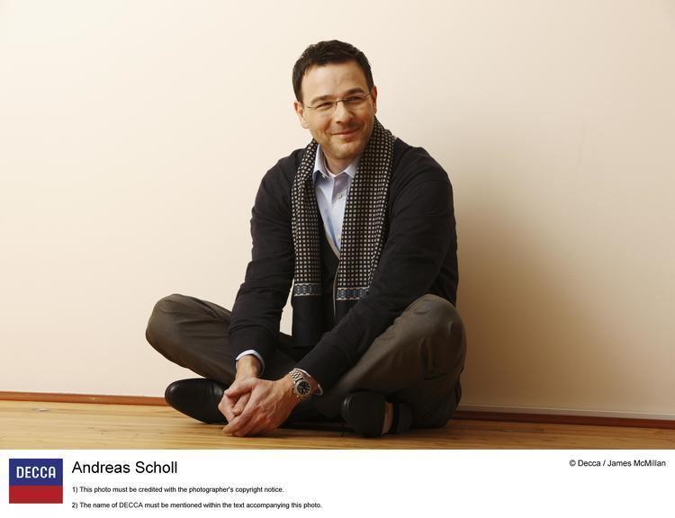 Andreas Scholl Philharmonia Baroque Orchestra with Andreas Scholl