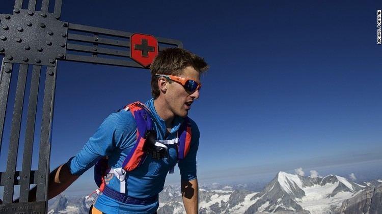 Andreas Steindl Peak performance The man who runs across mountains CNNcom
