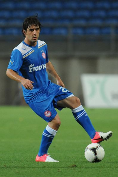 Andreas Tatos Andreas Tatos Pictures Olympiacos FC v Braga Pre