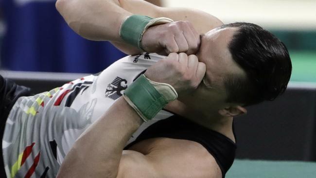 Andreas Toba Andreas Toba Injured German gymnasts extraordinary act of sacrifice