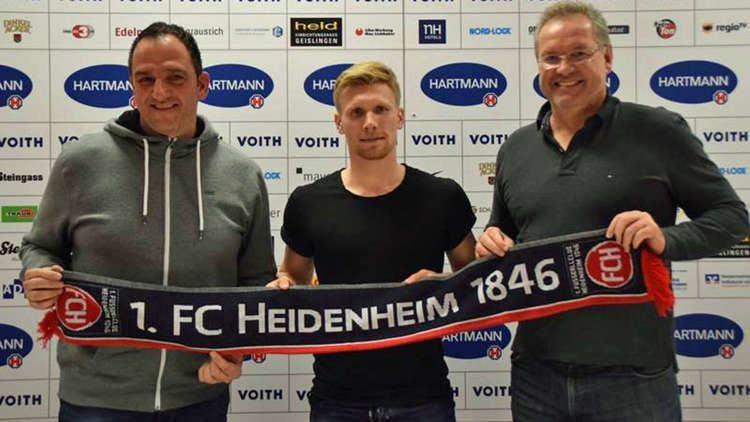Andreas Voglsammer Perfekt Andreas Voglsammer wechselt nach Heidenheim