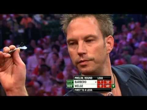 Andree Welge Andree Welge vs Julio Barbero PDC World Darts Championships 2014
