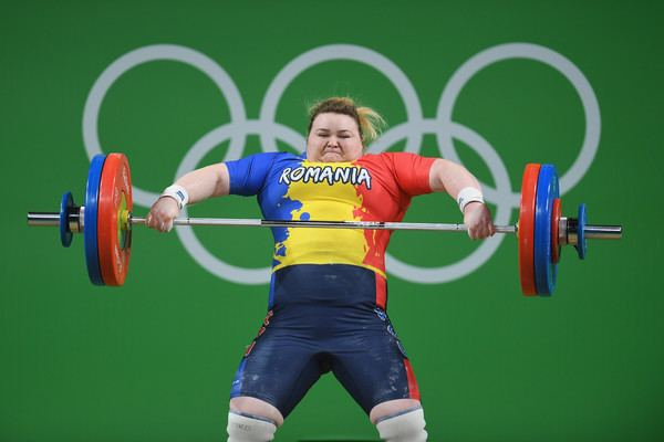 Andreea Aanei Andreea Aanei Pictures Weightlifting Olympics Day 9