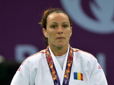 Andreea Chițu Andreea Chiu medaliat cu aur la Grand Prixul de judo de la Jeju