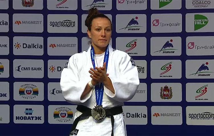 Andreea Chițu Romania39s Chitu wins silver in World Judo Championships 52kg