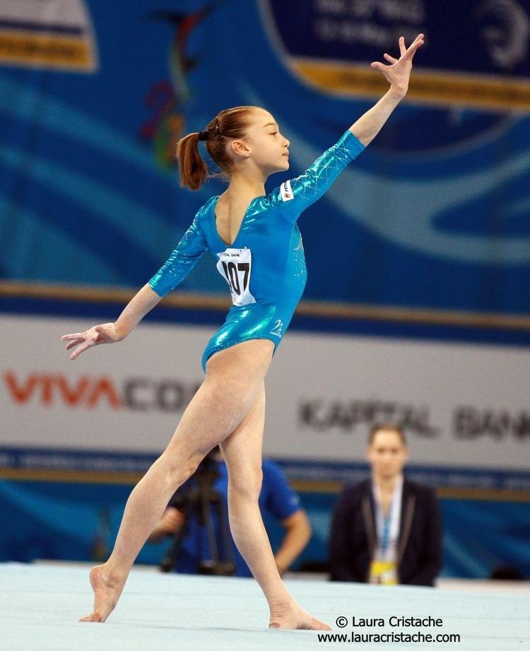 Andreea Iridon Andreea Iridon AA Final CE Sofia 2014 PHOTOS Laura