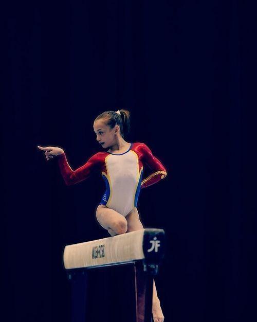 Andreea Iridon Andreea Iridon gymnastics Pinterest Posts