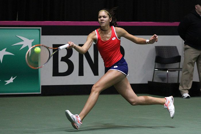 Andreea Mitu Fed Cup Articles Romania clinches historic victory
