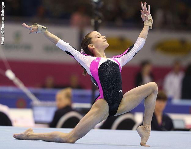 Andreea Munteanu International Gymnast Magazine Online Munteanu Most