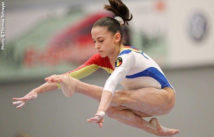 Andreea Munteanu Gimnasta Andreea Munteanu campioan european