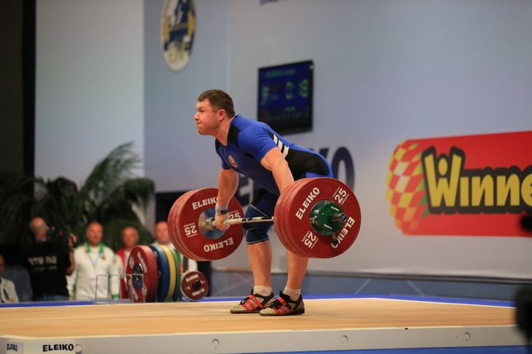 Andrei Aramnau The 2014 European Weightlifting Championships Sportivny