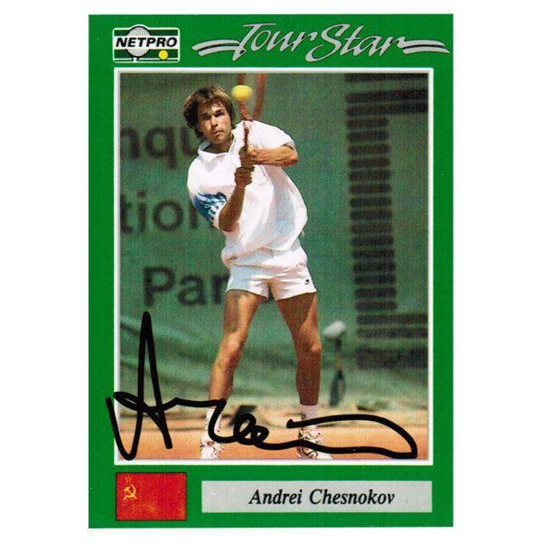 Andrei Chesnokov Andrei Chesnokov Signed Men39s