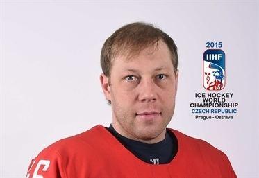 Andrei Kostitsyn Kostitsyn 2015 WM International Ice Hockey Federation IIHF