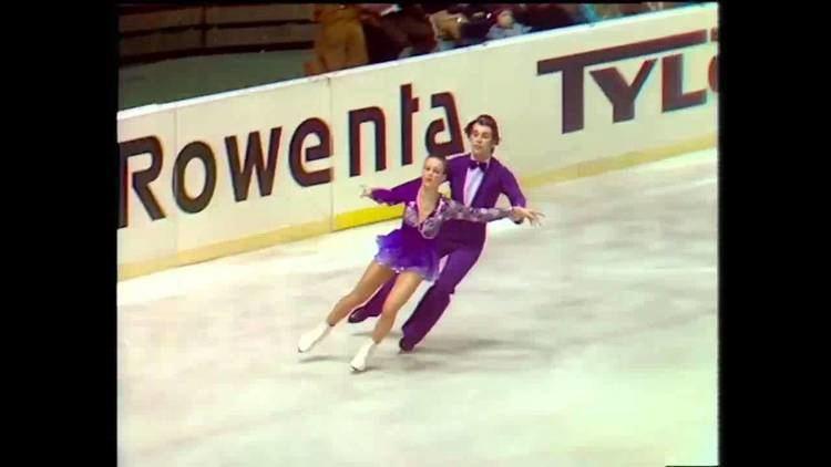 Andrei Minenkov Irina MOISEEVA Andrej MINENKOV Free Dance 1976 World Figure