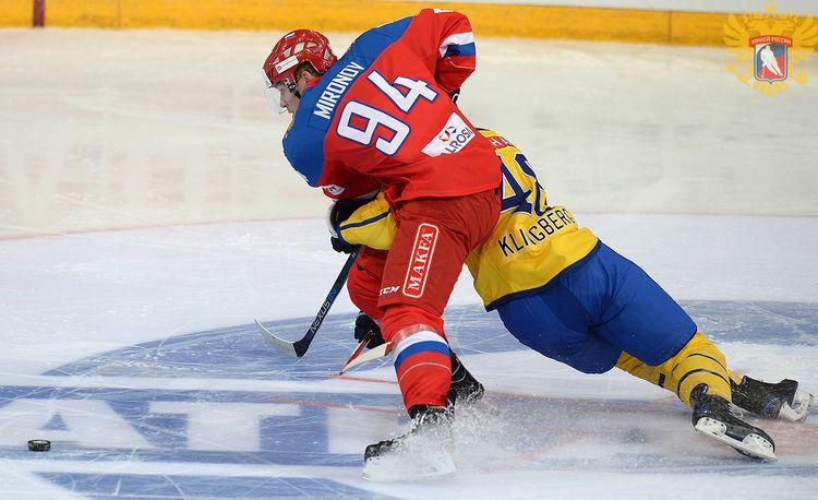 Andrei Mironov (ice hockey) RIHF RIHF statement on Andrei Mironov