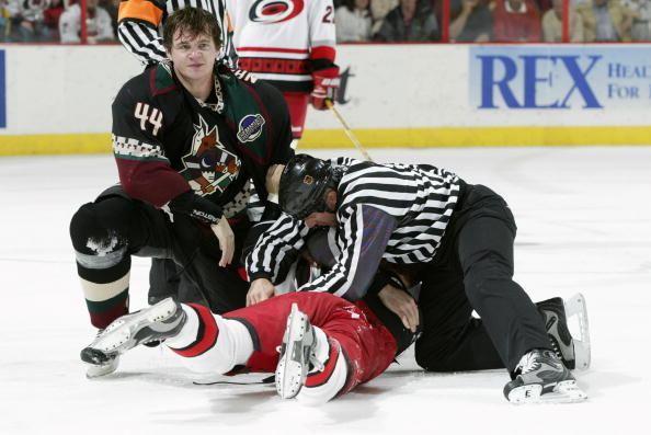 Andrei Nazarov BarDown KHL coach and exNHL goon Andrei Nazarov knocked