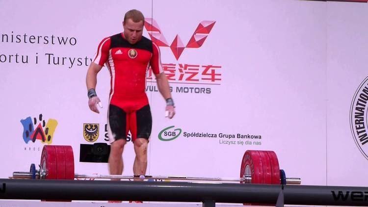 Andrei Rybakou Andrei Rybakou WWC 2013 Gold medal winning 179kg snatch YouTube