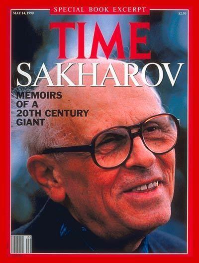 Andrei Sakharov TIME Magazine Cover Andrei Sakharov May 14 1990
