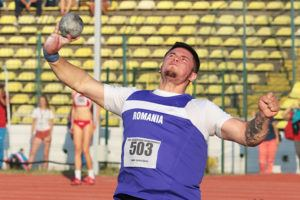 Andrei Toader Bydgoszcz shot put silver medal Andrei Toader tested positive to