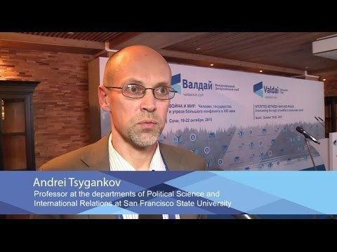 Andrei Tsygankov Andrei Tsygankov Central Issue of the Valdai Forum Changing World