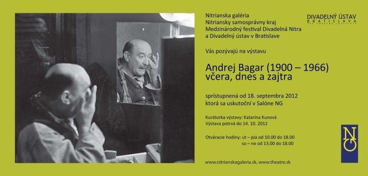 Andrej Bagar ANDREJ BAGAR 19001966 vera dnes a zajtra Nitrianska
