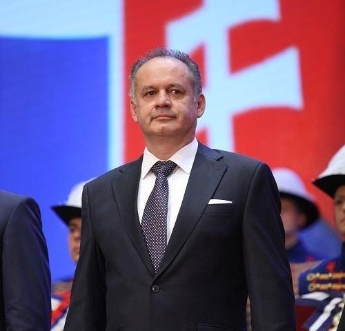 Andrej Kiska President of Slovakia Andrej Kiska will Speak at the Opening of the