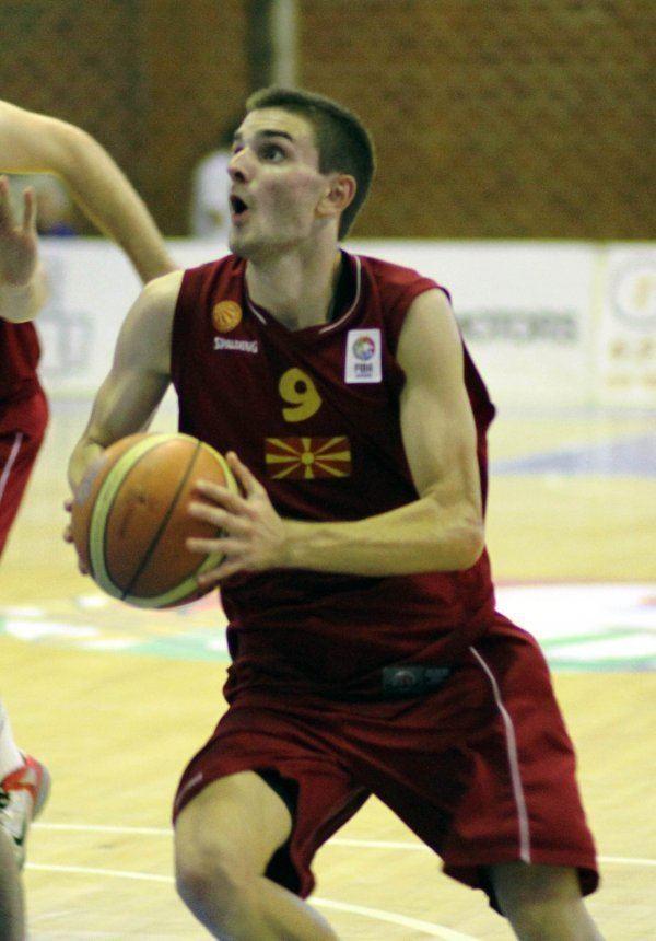 Andrej Magdevski Andrej Magdevski qualified for the Eurobasket with