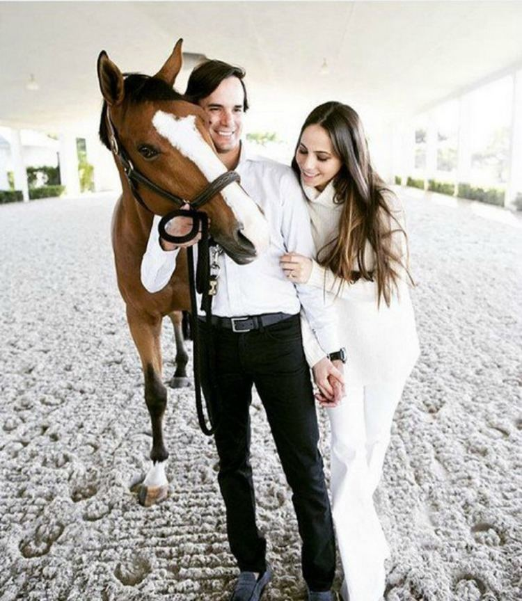 Andres Rodriguez (show jumper) EXCLUSIVE Widower of Wellington Woman Killed in Palm Beach Polo