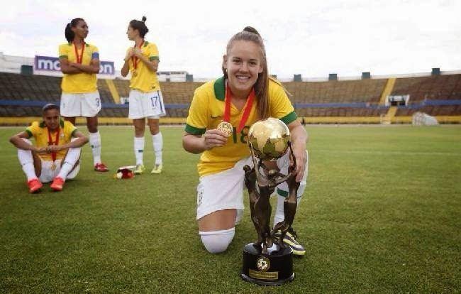 Andressa Cavalari Machry TALENTO VISTA Planeta Futebol Feminino