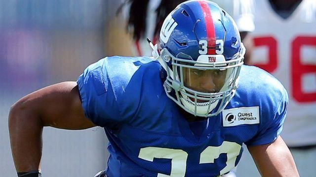 Andrew Adams (American football) Andrew Adams living the NFL dream as a starting safety for Giants