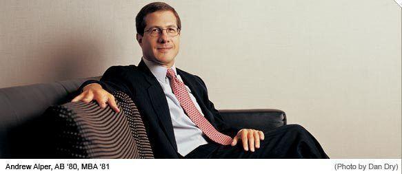 Andrew Alper GSB newsAndrew Alper AB 80 MBA 81 Steps Down as Head of NYC