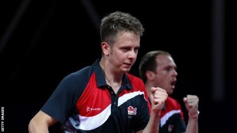 Andrew Baggaley Andrew Baggaley Table tennis player questions Olympic legacy BBC