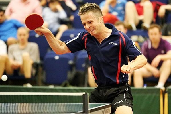 Andrew Baggaley Thorntons Table TennisAndrew Baggaley World Champion Thorntons