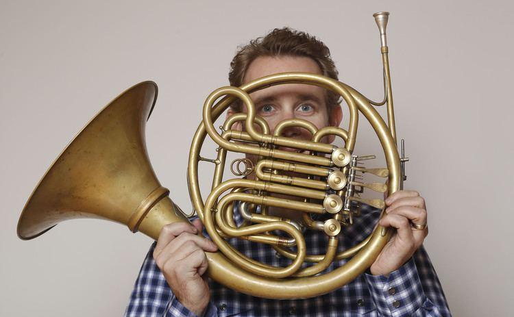 Andrew Bain (horn player) LA Philharmonic39s Andrew Bain takes spotlight in