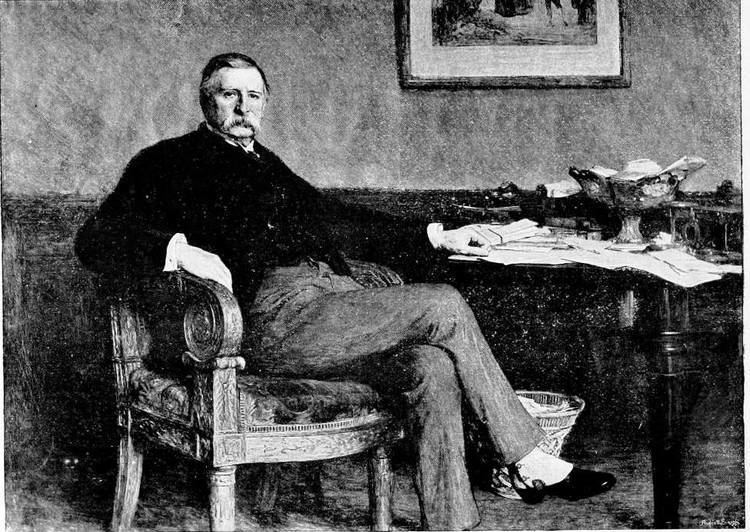 Andrew Barclay Walker The Late Sir Andrew Barclay Walker Bart by W Q Orchardson ARA