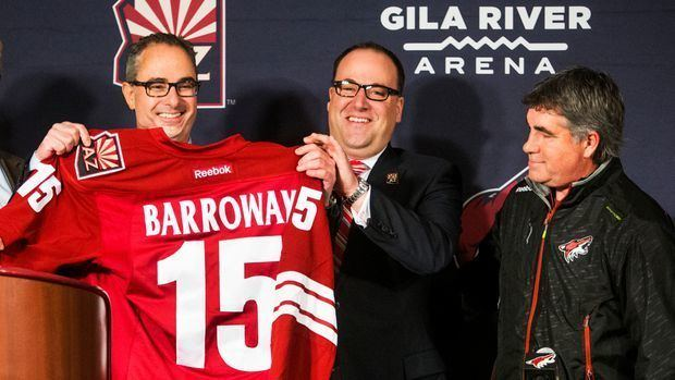 Andrew Barroway Andrew Barroway to relinquish role as Coyotes majority