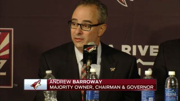 Andrew Barroway A game plan for Coyotes majority owner Andrew Barroway