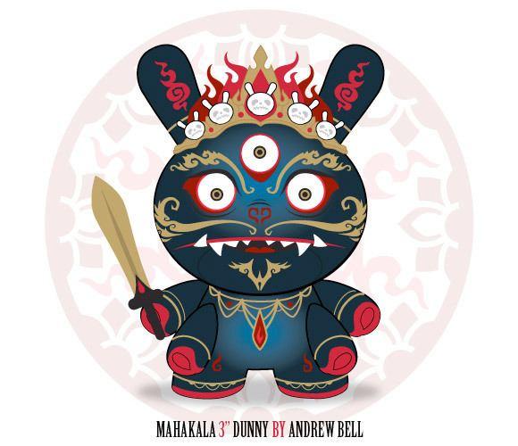 Andrew Bell (artist) DS2012 Daily Dunny Andrew Bell Kidrobot Blog