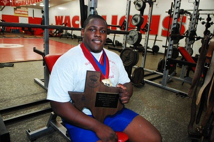 Andrew Billings The strongest high school student in Texas BAR NONE WIS