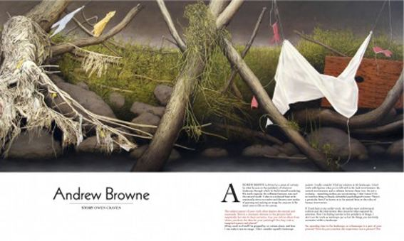 Andrew Browne (artist) andrewbrownecomaulibraryimageAP22078Andrew