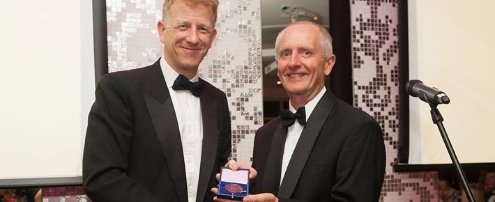 Andrew Bryan (engineer) Armstrong Director receives Sir Andrew Bryan Award