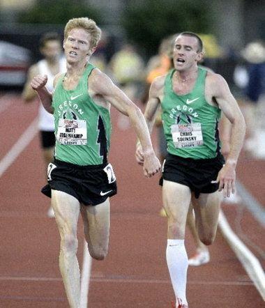 Andrew Bumbalough Oregon track amp field rundown Matt Tegenkamp and OTC