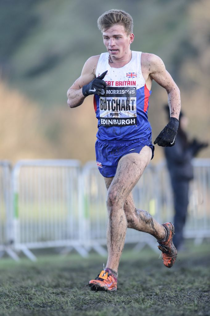 Andrew Butchart Eightlane Andrew Butchart has thanked British Athletics for taking