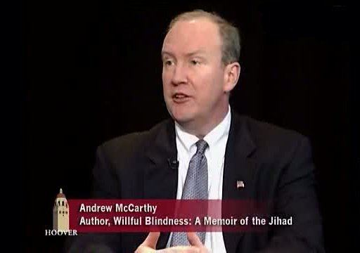 Andrew C. McCarthy Andrew C McCarthy Willful Blindness Memoir of the Jihad